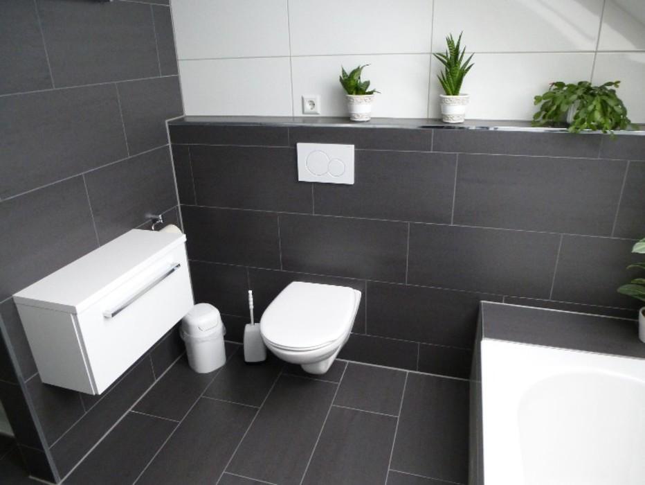 Beispiele bad und wohnr ume mit fliesen fliesenverlegung - Badezimmergestaltung fliesen ...